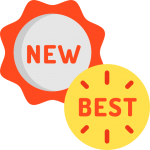 dessin badges nouveau, meilleur