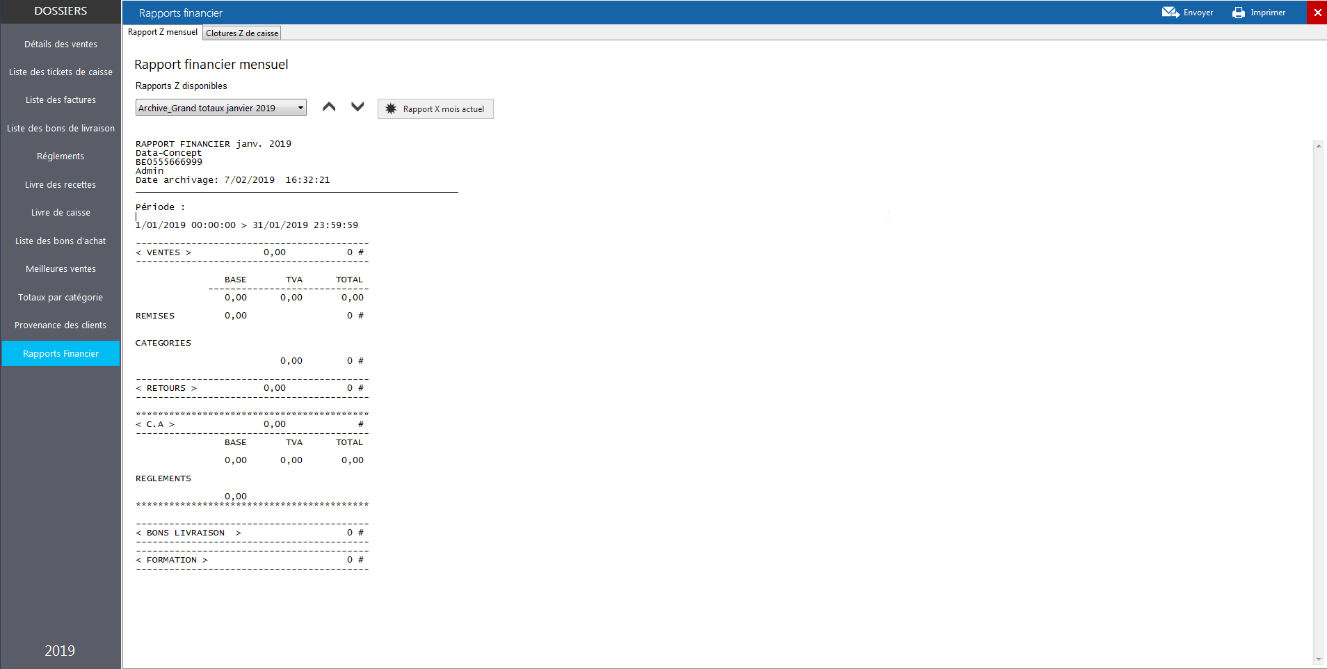 Interface restobar ticket