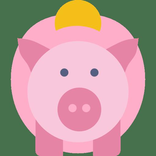 dessin cochon tirelire